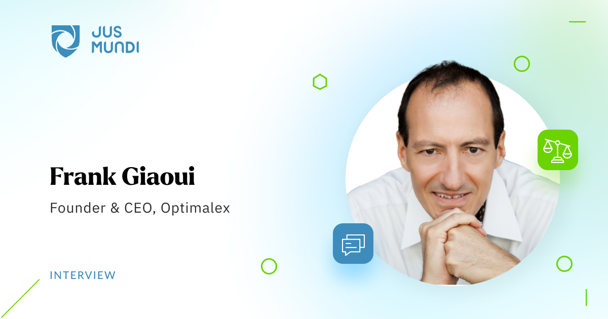 The Path from Data to Prediction: An Interview with Frank Giaoui, Founder & CEO of Optimalex