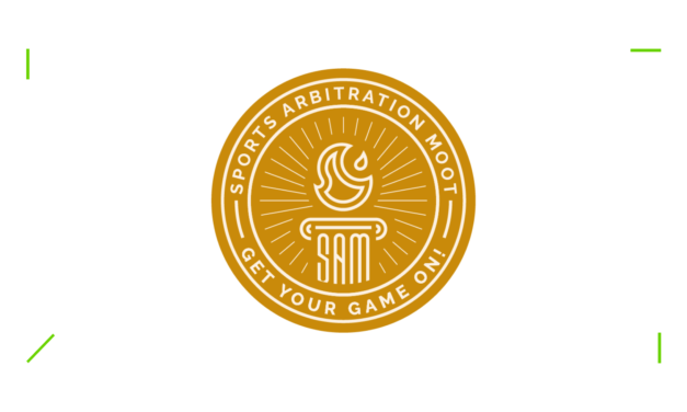 New partnership with the Sports Arbitration Moot